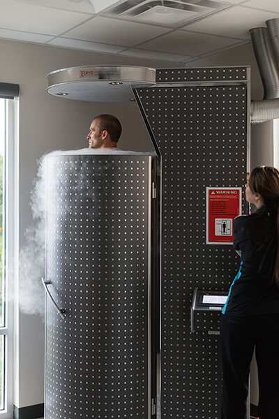Whole Body Cryotherapy In San Antonio Stratton Sport
